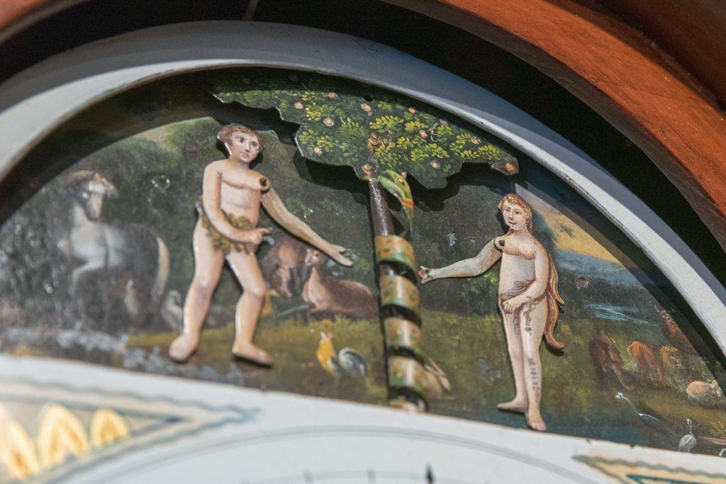 Adam & Eve Grandfather Clock