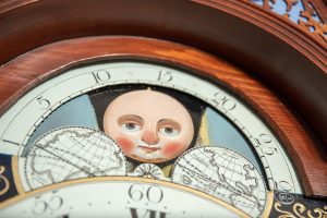 moon phase granddaughter clock face