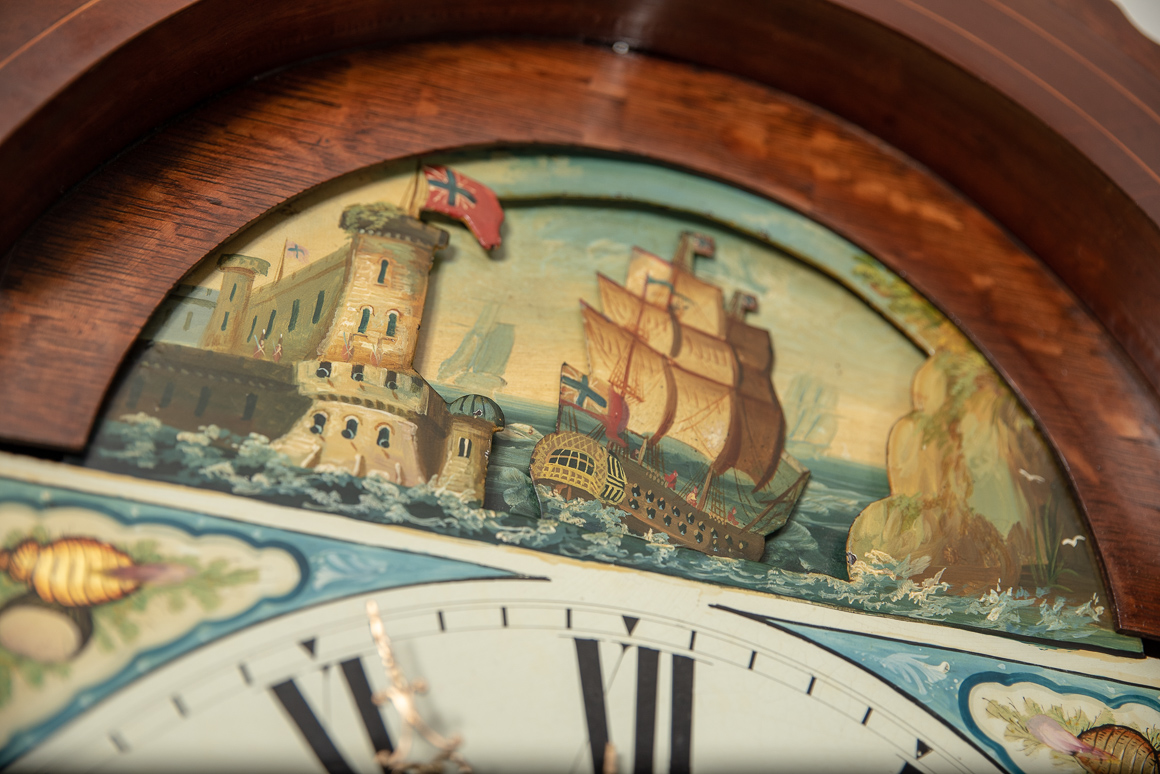 moving ship grandfather clock